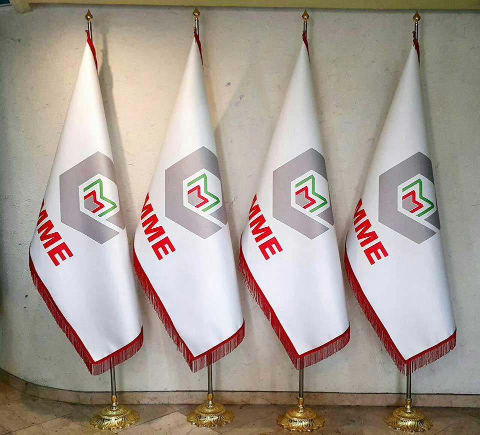 پرچم تشریفات,پرچم بزرگ,پرچم-بارنگ-تشریفات-تهران