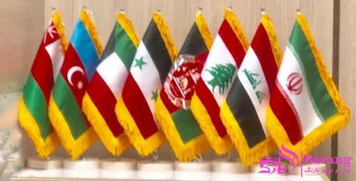 پرچم-رومیزی-کشورهای-همسایه-ایران