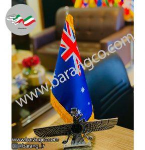 پرچم رومیزی مدل دور جیر