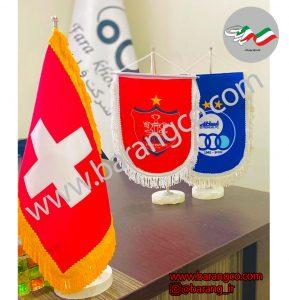 چاپ پرچم رومیزی,پرچم یادبود تیم های استقلال و پرسپولیس