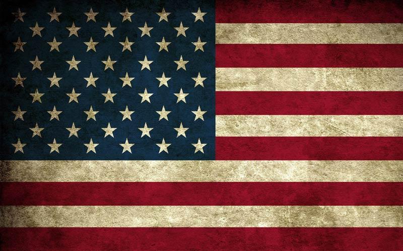 پرچم-کشور-ایالات متحده امریکا شهر پرچم بارنگ