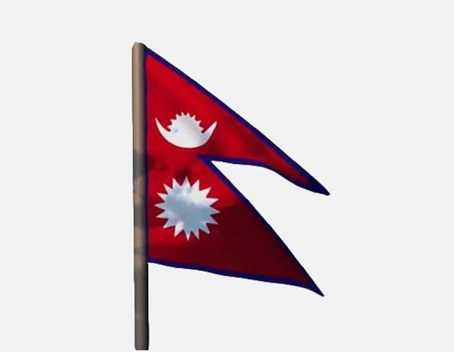 پرچم-کشور-نپال شهر پرچم بارنگ