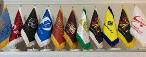 چاپ پرچم رومیزی با طرح اختصاصی,پرچم تبلیغاتی
