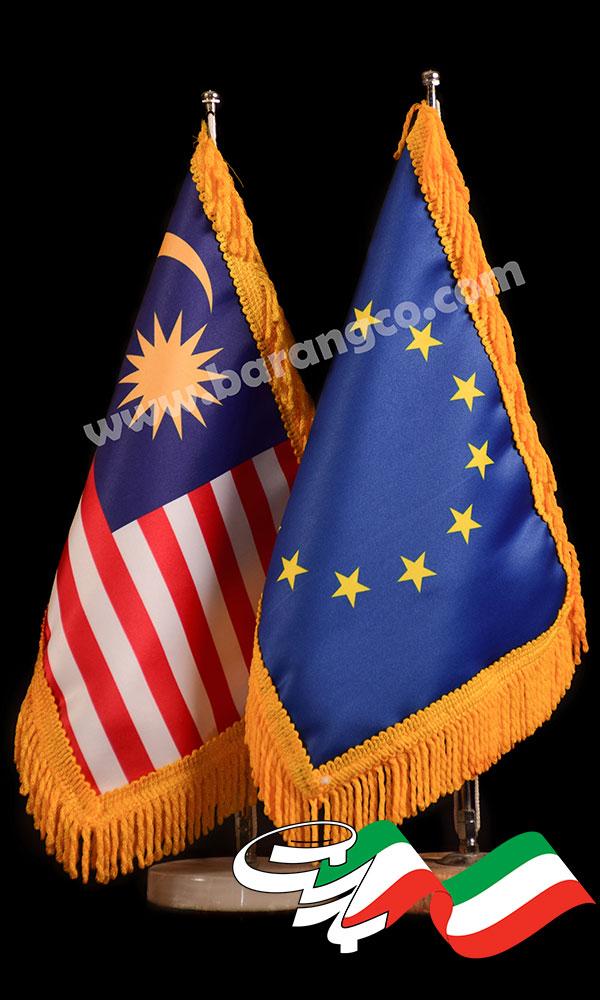 مراحل چاپ پرچم
